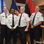 HRFE Chief Stuebing Officially Appointed Assistant Chief Corey Beals