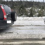 Halifax District RCMP ticket driver caught towing another vehicle with rope on Hwy 103