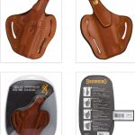 Browning Leather Pistol Holsters recalled due to Injury Hazard