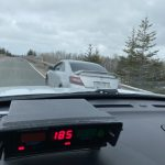 Stunting driver charged: 85 km/hr over the posted speed limit