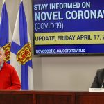 Nova Scotia Reports Three More Deaths, Forty-three New Cases of COVID-19