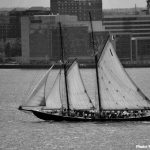 Bluenose Prepares for Sail Past Summer Tour