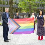 Pride flag was raised at Province House in Halifax