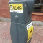 New parking pay station sign installation beginning August 3