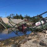Bridge Collapse in Guysborough County