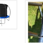 Coolmore 12 foot Super Bounce Trampoline recalled due to risk of injury
