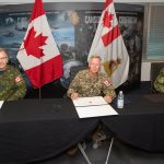 Lieutenant-General Christopher Coates assumes responsibility of Canadian Joint Operations Command
