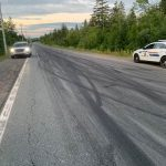 Street racing and excessive tire marks on Otter Lake Rd.