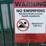 Albro Lake Beach closed to swimming