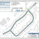 Romans Avenue – Rolling Road Closures / Bedford Highway – Lane Drop for Water Main Repair