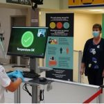 The Canadian Air Transport Security Authority will implement mandatory temperature screening for all passengers and staff entering the secure area of the airport.