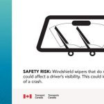 Recall: On certain Volvo vehicles, the nuts that attach the windshield wiper arms may not have been tightened properly