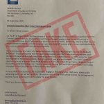 Fake forestry letter circulating