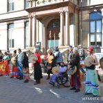 A rally in solidarity with Mi'kmaq Fisher folks took place in Grand Parade