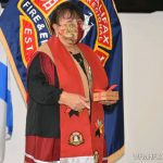 HRFE introduced and inaugurated a Spiritual Advisor, Elder Debbie Eisan, to the fire service