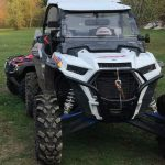 Cumberland District RCMP is investigating a complaint of a stolen 2019 white Polaris RZR ATV