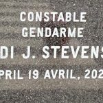 Cst. Heidi Stevenson's name was unveiled on the Wall of Honour at Nova Scotia RCMP Headquarters