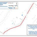 Lucasville Road / Caledonia Road – Lane Drop for Water Main Work