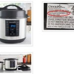 Crock-Pot®6-Quart Express Crock Multi-Cookers recalled due to burn hazard