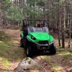 Colchester District RCMP is investigating a complaint of a stolen 2010 green Kawasaki Teryx Side-by-Side ATV
