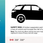 Recall: Ford Explorer SUVs. On certain SUVs, the outer ball joint for the rear suspension toe link may seize