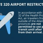 Halifax Transit: A reminder for Holiday travelers: Any air travelers arriving from outside of the Atlantic provinces