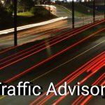 Weekly Traffic Advisories (Dec 31st)