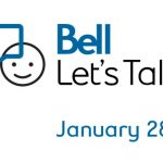 Thursday January 28, 2021 is Bell Let's Talk Day!