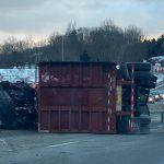 Highway 102 is closed inbound towards Halifax at the interchange of highway 101