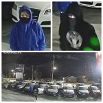Police request public's assistance identifying suspects in vehicle thefts