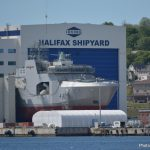 Temporary closure at Irving Shipbuilding, Halifax