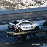 Police Investigate Impaired Driver who collided with a Police vehicle