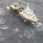 Ocean rescue after ship calls a mayday