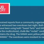 Public Health received reports from a community organization in the Halifax area who witnessed two overdoses