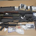 Police charge two people for weapons offences