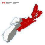 (Ended) Snowfall warning in effect via Environment Canada