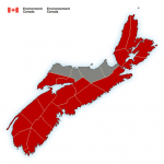 (ENDED) Rainfall and wind warnings in effect via Environment Canada
