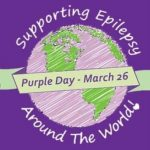 Purple Day – International epilepsy day – returns on Friday, March 26 2021