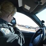 Police issue 102 tickets for speeding and other vehicle offences