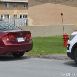 Dryer fire leads to ticket to car parked at fire hydrant