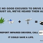 Tomorrow is National Impaired Driving Enforcement Day and RCMPNS will be on the roads to protect all road users