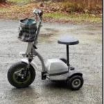 Help the RCMP find a stolen mobility scooter
