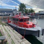 Halifax Regional Fire & Emergency unveils new fire rescue boat
